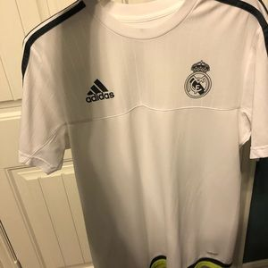Adidas Real Madrid practice jersey